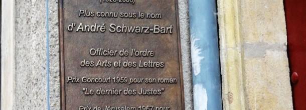 L'écrivain André Schwarz-Bart est né à Metz…