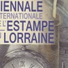 Biennale Internationale de l'Estampe en Lorraine