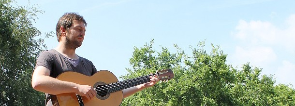 Jo Cimatti, le musicien amuseur public
