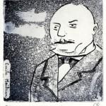 Emile Moitrier par Rosette Choné - Coll. BM Metz