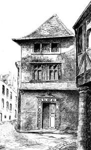 Maison-Rabelais - Coll. BM Metz