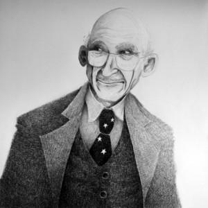 Robert Schuman par Jean CHAUVELOT  - Coll. BM Metz