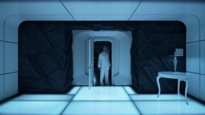 Chambre 2001 Odyssée de l'espace