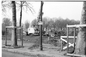 Travaux de l'esplanade - Coll. BM Metz
