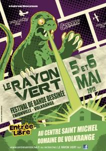 Festival Rayon Vert affiche