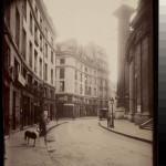 Rue de Viarmes cote de la rue Vannes (1e) - Atget