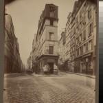 Maison d'Andre Chenier en 1793 - 97 rue de Clery (2e arr) - Atget