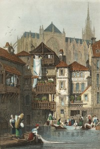 Poster Cathédrale - Coll. BM Metz