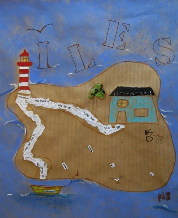 île par Nathalie Zolkos