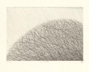 La pluie VII, par Hiroko Okamoto. Coll. BM Metz