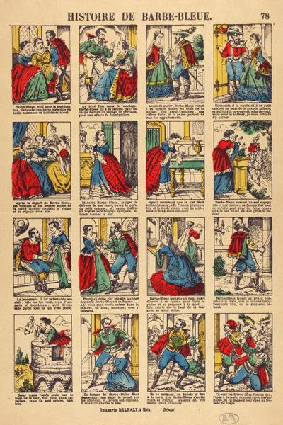 Histoire de Barbe Bleue par Dehalt - coll.BM Metz
