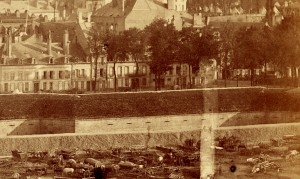 Détail du Front Saint-Vincent - 1870