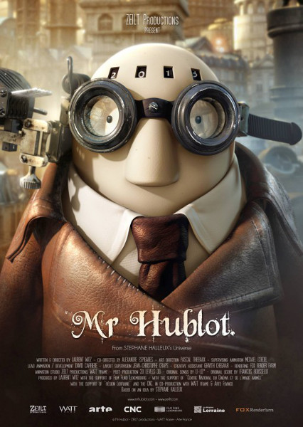 Affiche du film Mr.Hublot - 2013