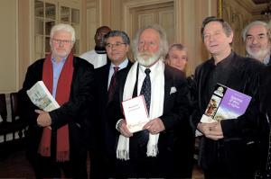 Le jury du Prix Erckmann-Chatrian lors de la proclamation des résultats 2012 à l'Hôtel de Ville de Metz