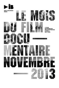 Le mois du films documentaire - Novembre 2013 - Affiche