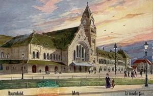 Gare de Metz - coll. BMM
