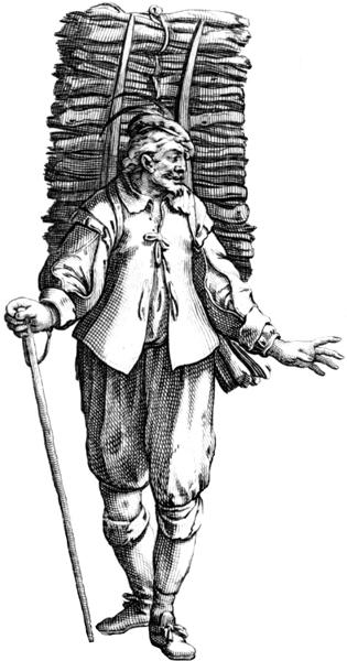 Le marchand de bois, Estampe, source gallica.bnf.fr