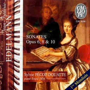 Sonates Opus 6, 8 & 10 - Discographie Eldelmann