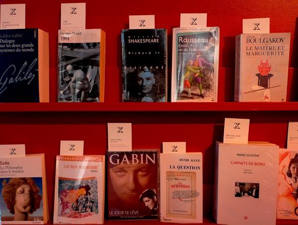 """Classé X """"Petite bibliothèque des censures"""" - FRAC Lorraine"""