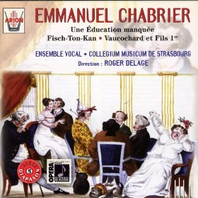 Emmanuel Chabrier - Fisch-Ton-Kan - Pochette Disque Compact