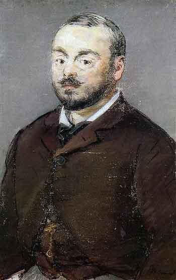 Emmanuel Chabrier par Manet