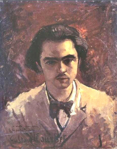 Paul Verlaine par Courbet