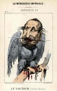 Caricature Napoléon III