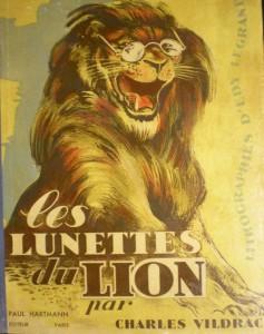 Couverture Les lunettes du lion - Charles Vildrac