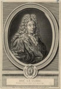 Sébastien Le Clerc, dessinateur et graveur ordinaire de la Maison du Roy, par Claude Duflos - Coll. BM Metz