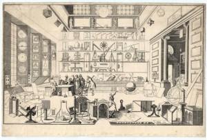 Le Cabinet de travail de Sébastien Le Clerc, par Sébastien Le Clerc - Coll.BM Metz
