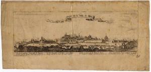 Profil de la ville de Metz, par Sébastien Le Clerc - Coll. BM Metz