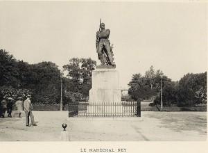 Statue du Maréchal Ney, Esplanade. Coll. BM Metz