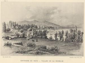 Environs de Metz - Vallée de la Moselle - Coll. BM.Metz