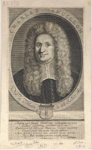 Portrait gravé de Charles Ancillon