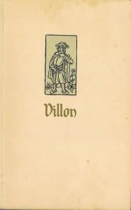 Portrait de Villon, reproduction d'une gravure du XVe siècle