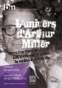 L'univers d'Arthur Miller - coll.BMM
