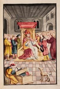 Extraits des Chroniques de Metz par Jean Aubrion et par Philippe de Vigneulles, citoyens de Metz, 1er volume, pages 98 et 1 – Coll. BM Metz