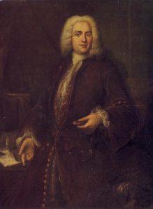 Portrait de Boismortier découvert par Stéphan PERREAU, premier biographe du compositeur.