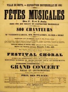 Fêtes musicales 1861