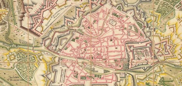 Deux plans de Metz sous le proconsulat de Belle-Isle - Le ...