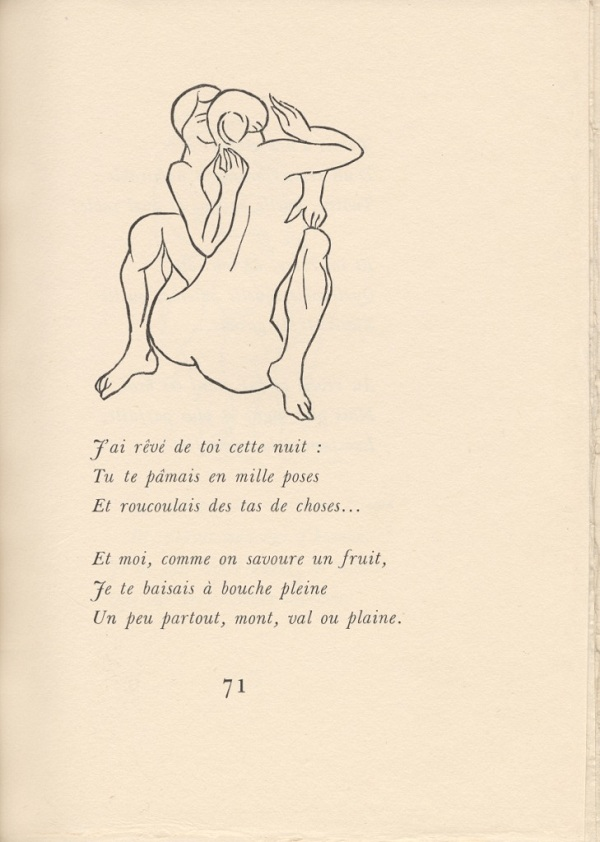 Aristide Maillol, Chansons pour elle, 1939